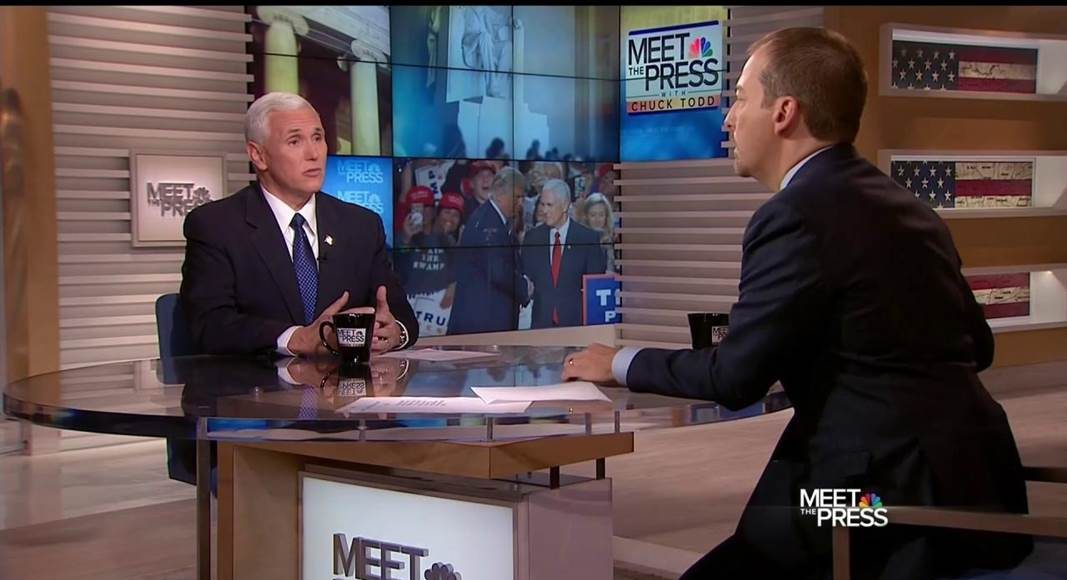 Vice President Michael Pence Television Appearances