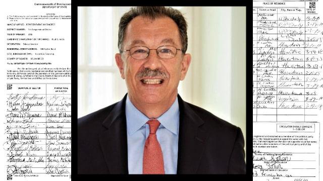 Paul Addis (R-Pa.) accused of forging nomination signatures.