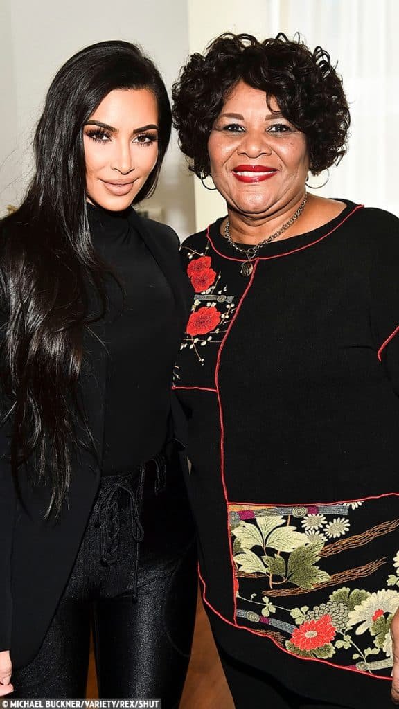 """Kim Kardashian West and Van Jones were both involved in Alice Marie Johnson's case: """"After discussing prison reform on his show, I saw firsthand just how many people are in awe of his work. Van is the hope so many people need,"""" says Kardashian West. (PHOTO: Michael Buckner/Variety/REX/Shut)"""