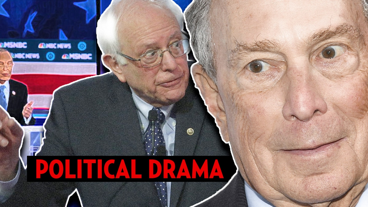 Bernie Sanders literally flips out on Bloomberg during debate; Biden boo'd at end » Your Content