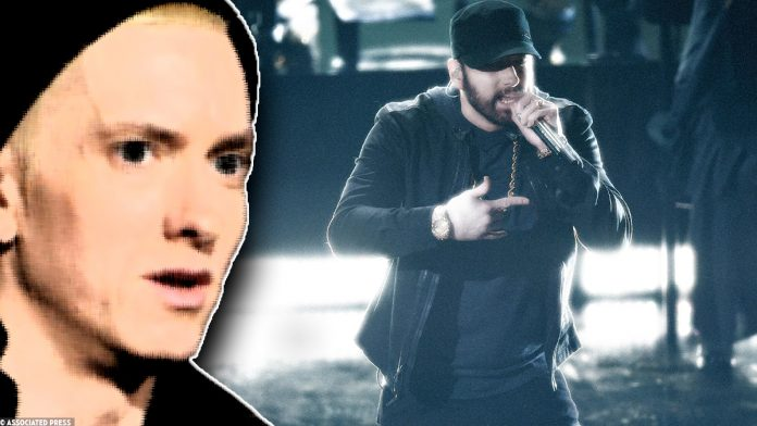 Oscars - Eminem performs 'Lose Yourself' at the 92nd Academy Awards