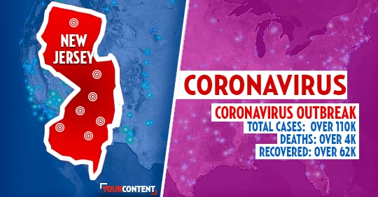 New Jersey reports FIRST coronavirus death in state: officials » Your Content