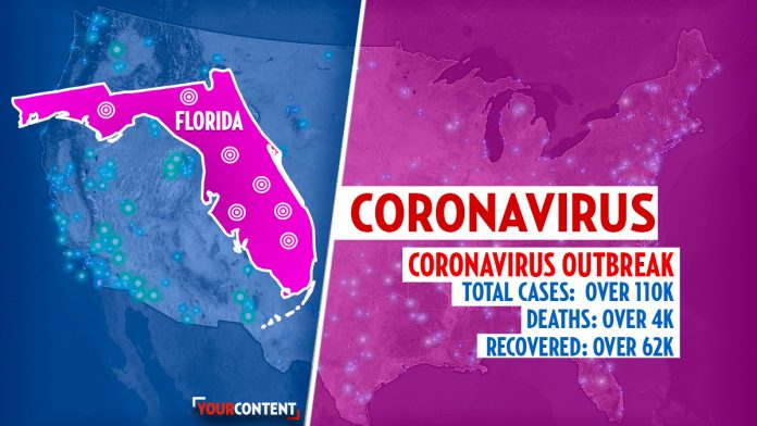 Florida hospital reports a coronavirus 'infestation' with multiple confirmed patients » Your Content