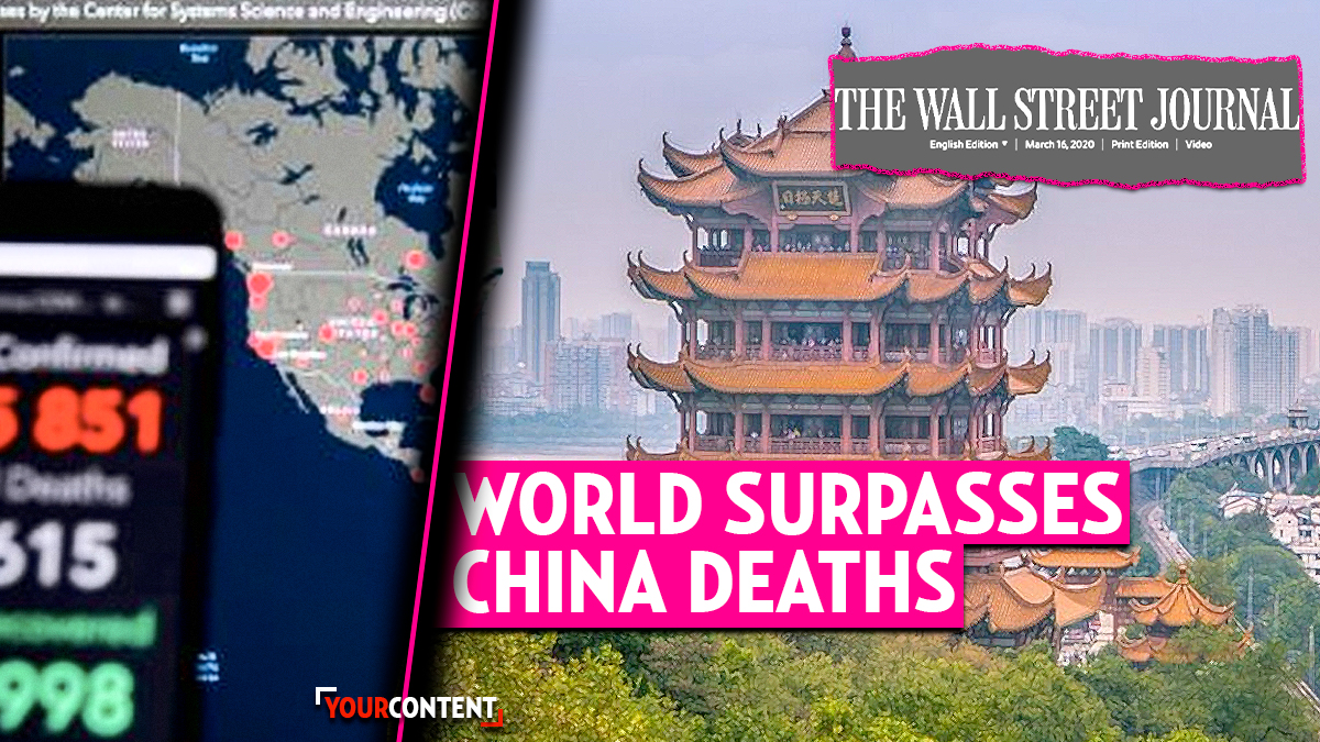 COVID-19 Deaths Outside China Surpass Those Inside: Pandemic Hits U.S. and EU » Your Content