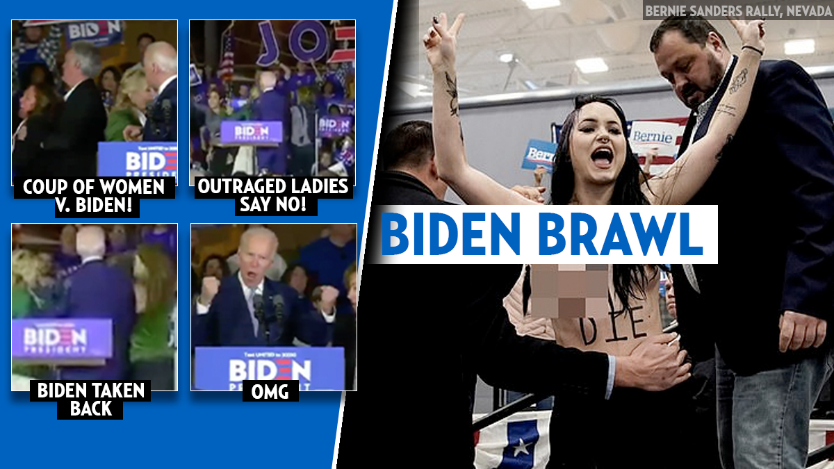 Coup of Cali women almost jump Joe Biden at Super Tuesday rally: 'Let dairy die!' » Your Content