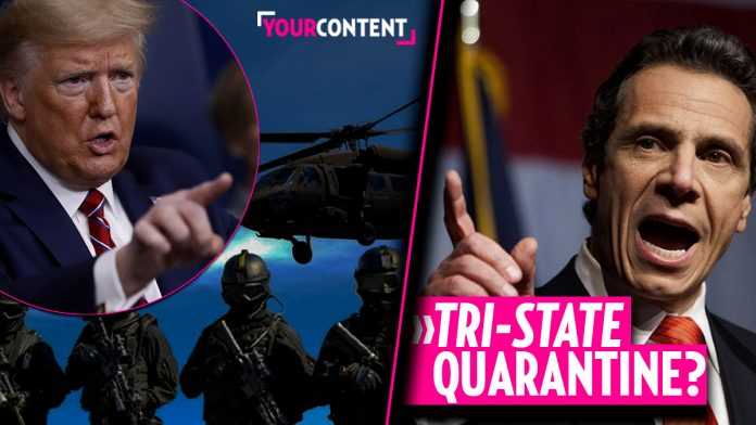 President Trump considering quarantine for 3 states, including NY and tri-state » Your Content