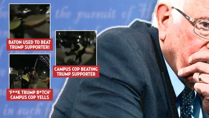 Trump supporter, 52, beaten by campus cop in parking lot of a Bernie Sanders rally » Your Content