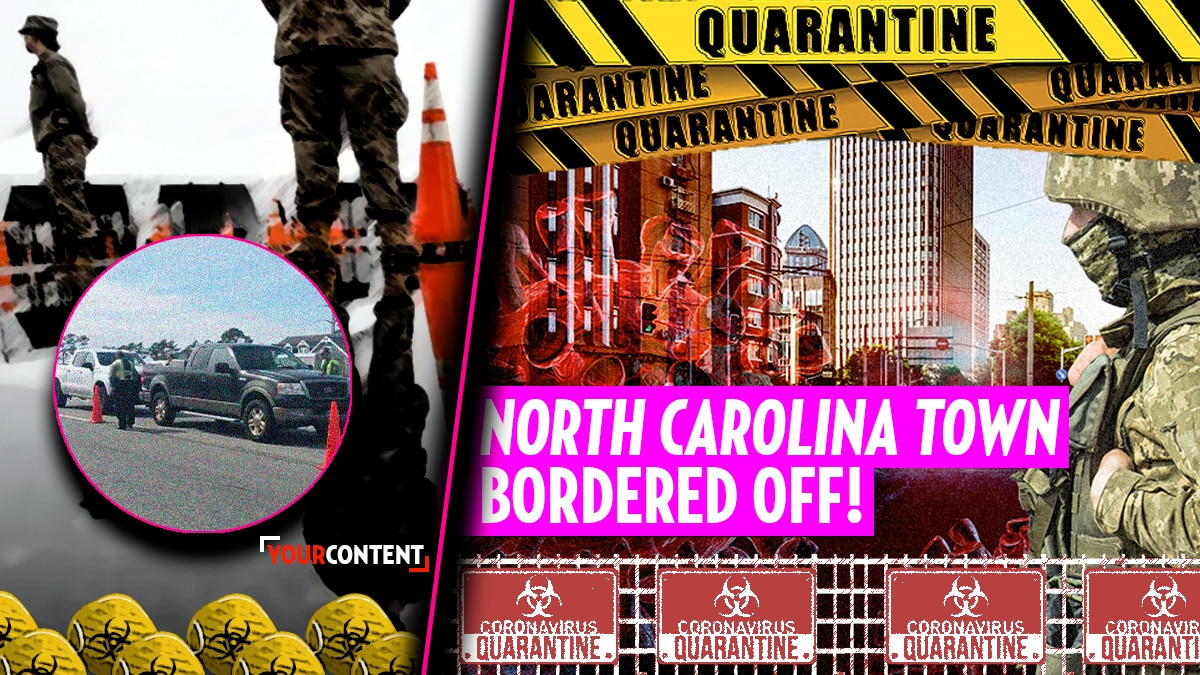 Officials in North Carolina mobilize border around entire community over coronavirus » Your Content