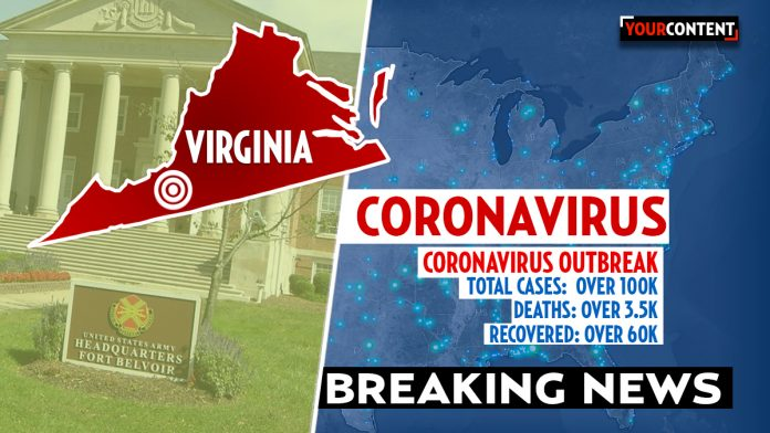 U.S. Marine stationed at Virginia base tests positive for coronavirus. Dept. of Defense » Your Content