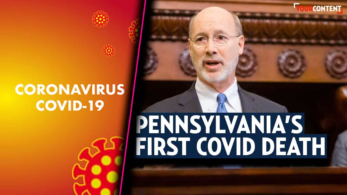 Gov. Wolf: 'Today is just the first death of what will become many' over coronavirus