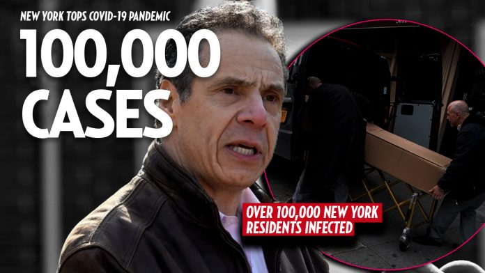 100,000 New Yorkers test positive for coronavirus as disease ravages city » Your Content