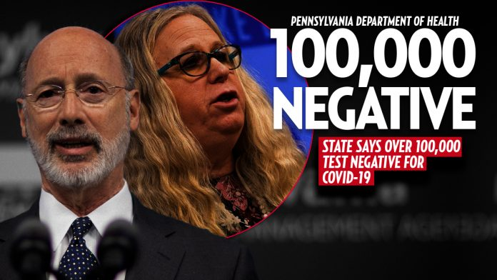 Over 100,000 Pennsylvanians Have Tested Negative for COVID-19, 22,833 Positive » Your Content