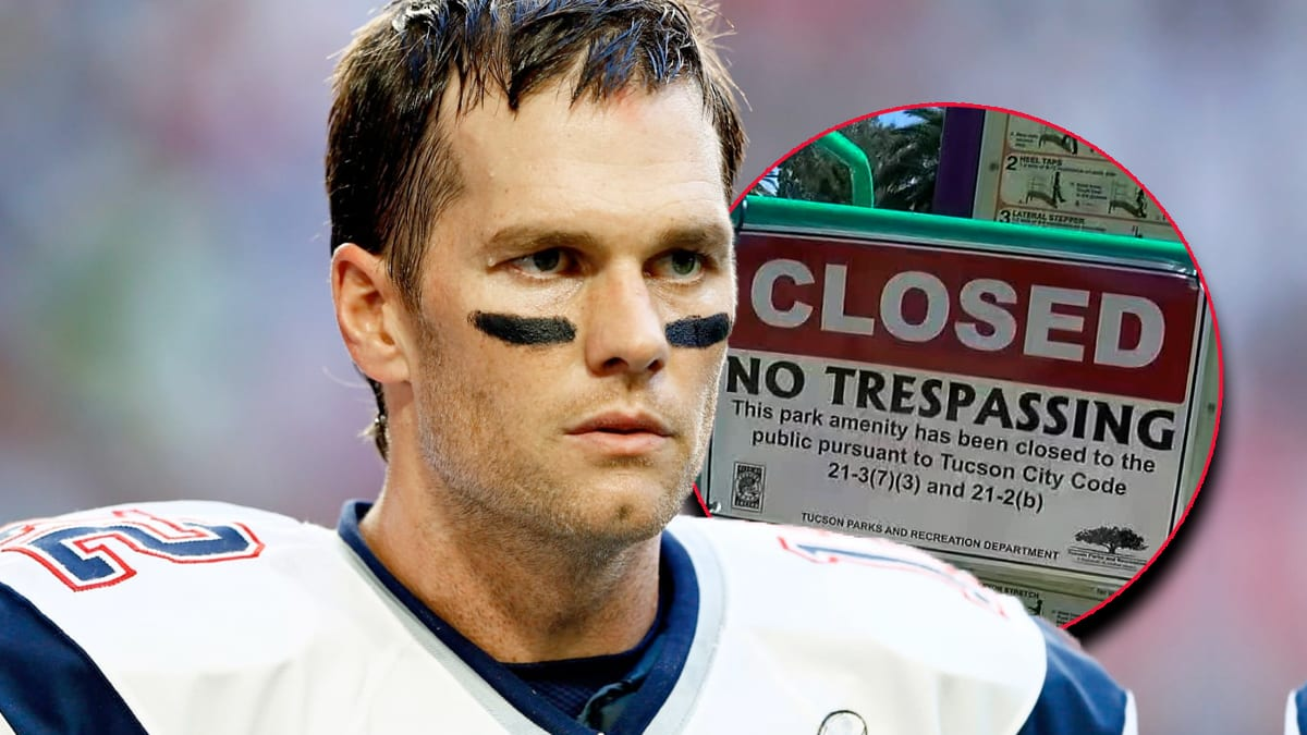 Tom Brady Caught Trespassing in Tampa-area Park During Quarantine, Thrown Out by Safety Officer