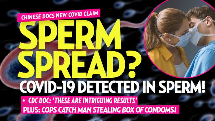SPERM SPREAD? Coronavirus 'Detected in Semen' of Man with COVID-19: Doctors