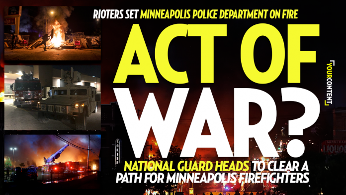 National Guard Responding to the Minneapolis Police Department, President Trump Briefed