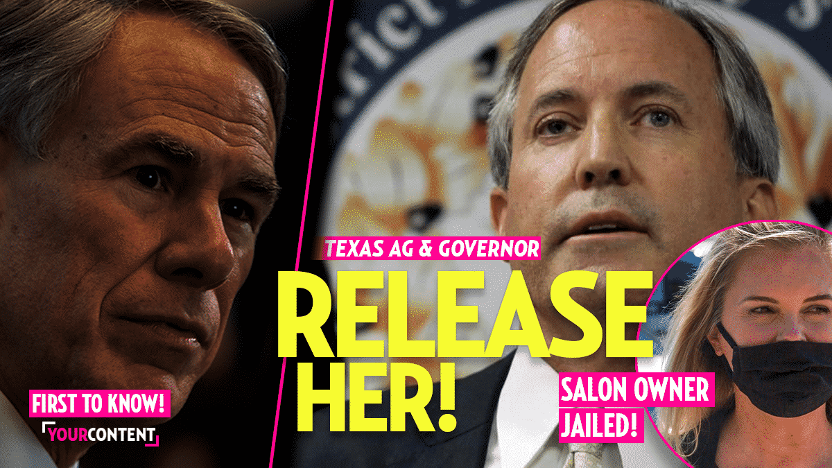 Texas AG and Governor Demand Release of Salon Owner Jailed for Working During COVID Crisis