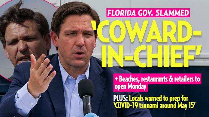 Florida Gov. DeSantis: 'Quarantine No More' as Beaches, Restaurants and Retailers Reopen