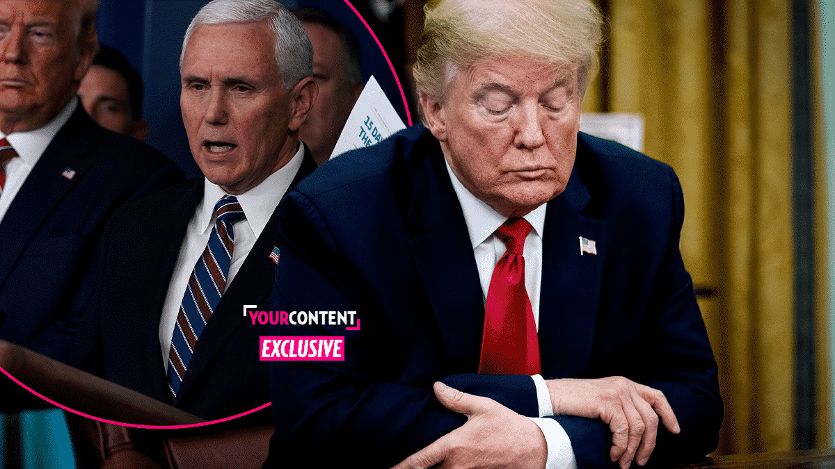 President Trump Says He Has Not Seen VP Mike Pence: 'I Miss Him; He Did Not Test Positive'