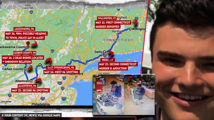 JUST IN: Connecticut Killer Peter Manfredonia Caught on Camera Purchasing Stuff from Sheetz