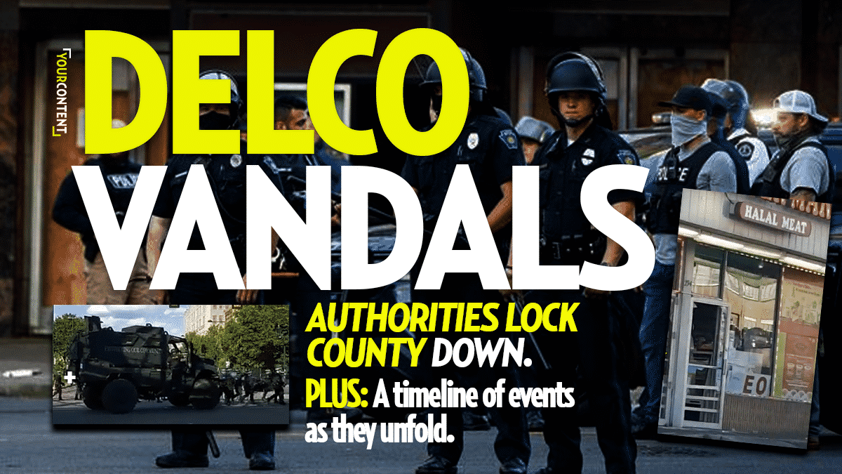 Rioters Breach Delco, Begin Looting 69th Street in Upper Darby: Massive Police Response, Avoid Area