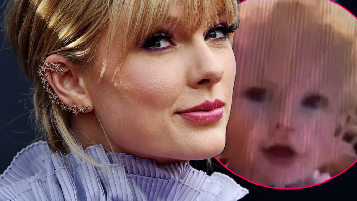 Taylor Swift Releases 1990 Video Showing Her at 10 Months Old Trying to Finish Her First Sentence