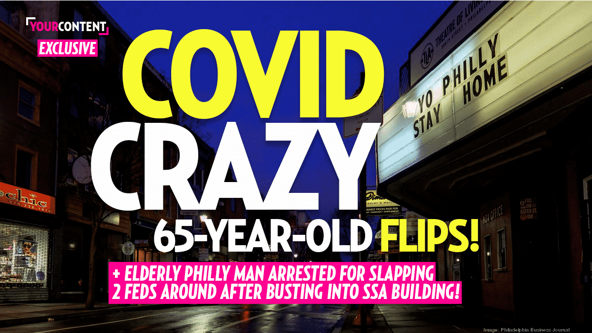 Elderly Man Slaps 2 Feds and Breaks Into SSA Building After Told it was Closed Due to COVID