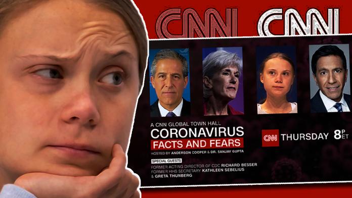 Greta Thunberg to Headline CNN Town Hall as an 'Expert' to Discuss Coronavirus Crisis Thursday