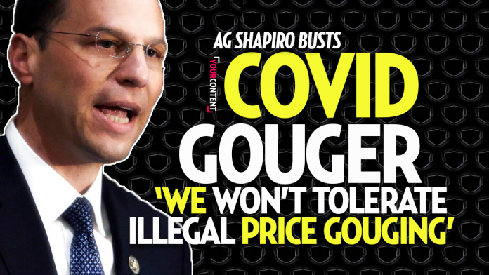 Philly COVID Gold Digging Dollar Store Busted by AG Shapiro for Price Gouging: $25 Masks