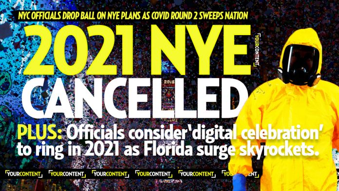 New York City CANCELS 2021 New Year's Eve Ball Drop for First Time Over Coronavirus » Your Content