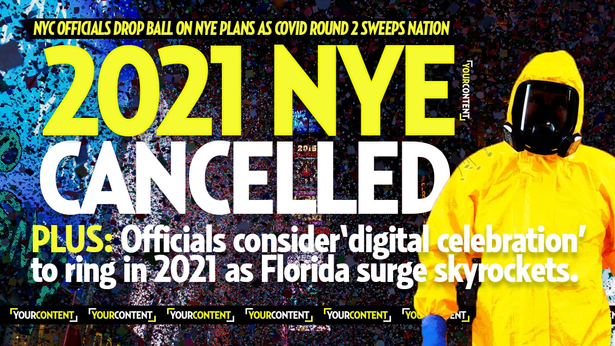 New York City CANCELS 2021 New Year's Eve Ball Drop for First Time Over Coronavirus
