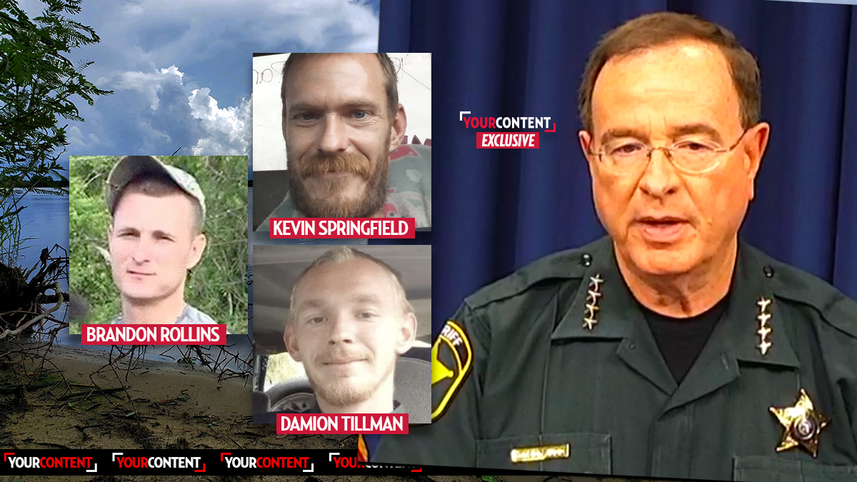 Sheriff Warns Florida Locals That Lake Killers At-Large 'Might Go Off On You Too' If Provoked