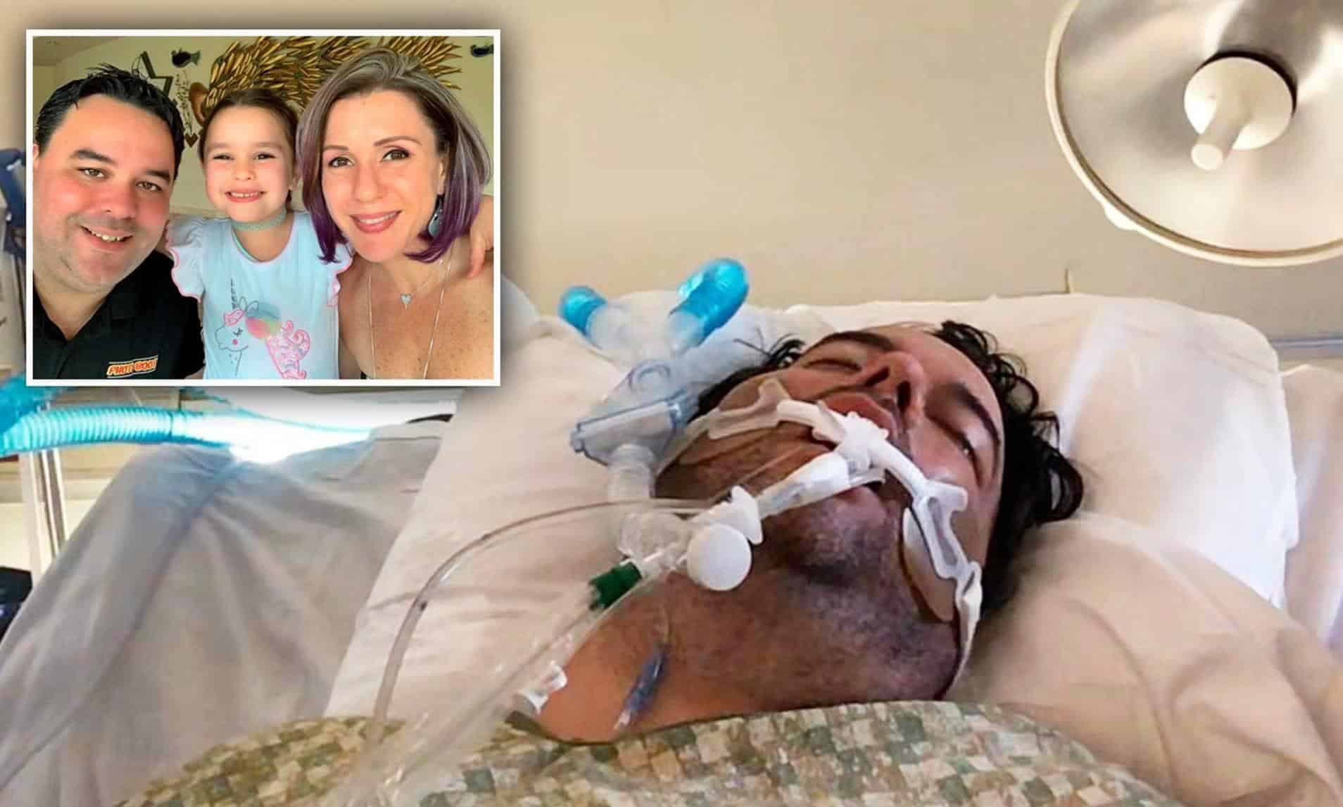 Florida Dad on Death Bed After Son Ignores Social Distancing and Gives COVID to ENTIRE Family