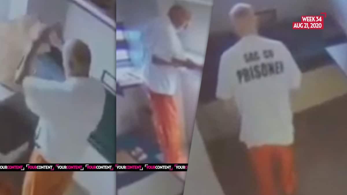 Golden State Killer Caught Doing JUMPING JACKS in Prison Cell