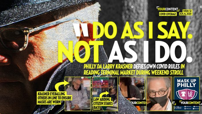 Philly DA Krasner Takes Weekend Stroll to Reading Terminal Market and DEFIES COVID Mask Rule
