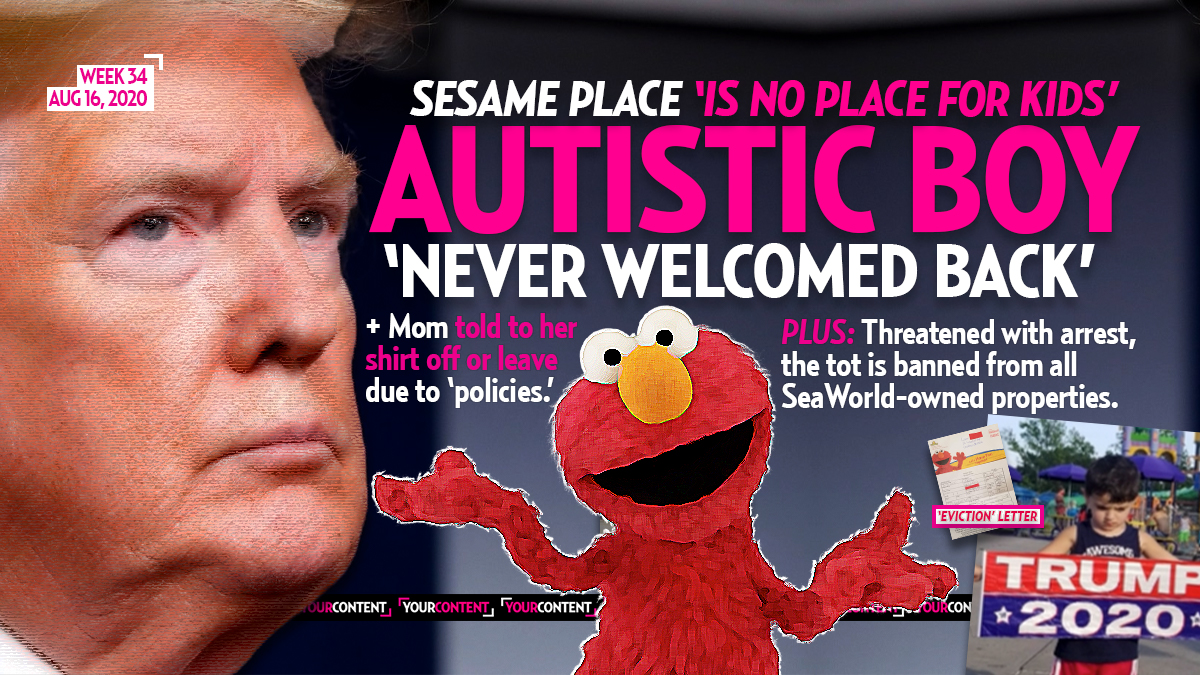 Autistic Boy, 3, Banned for Life from Sesame Place for Having Trump Flag, Said to Be 'Protesting'
