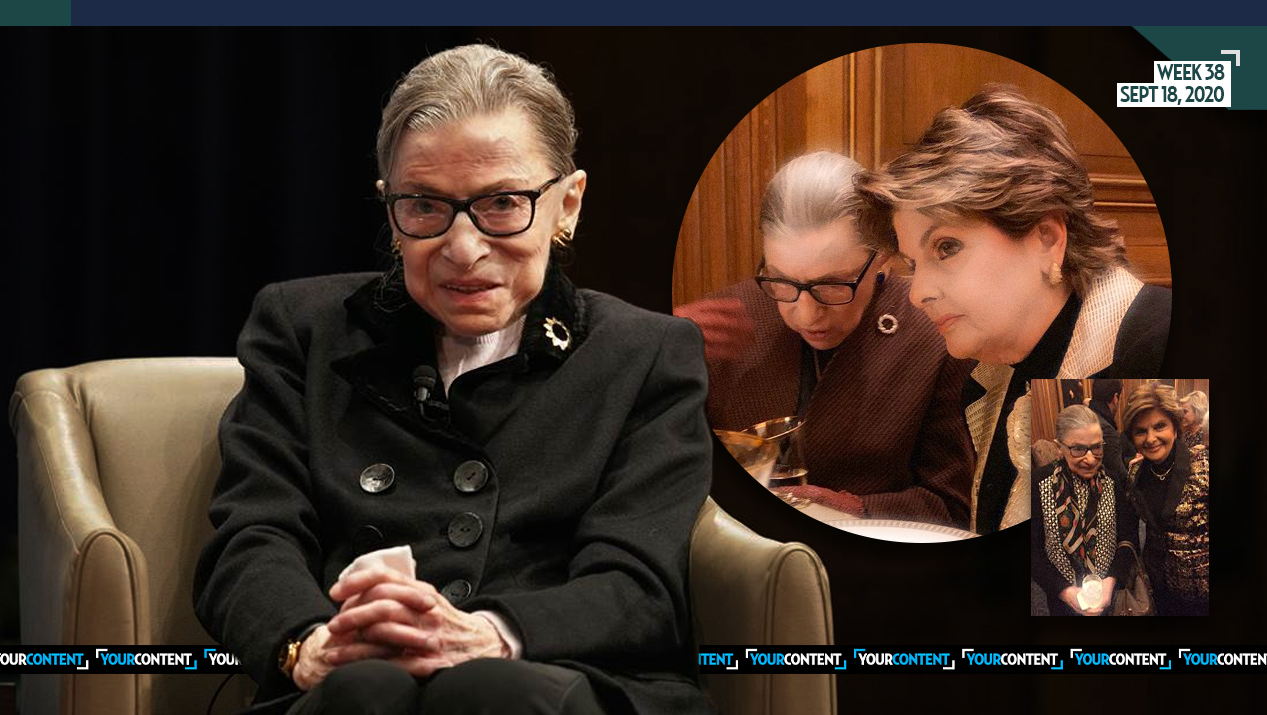Gloria Allred Reacts to Death of Justice Ruth Ginsburg: 'She Was The Greatest Justice Ever for Women'