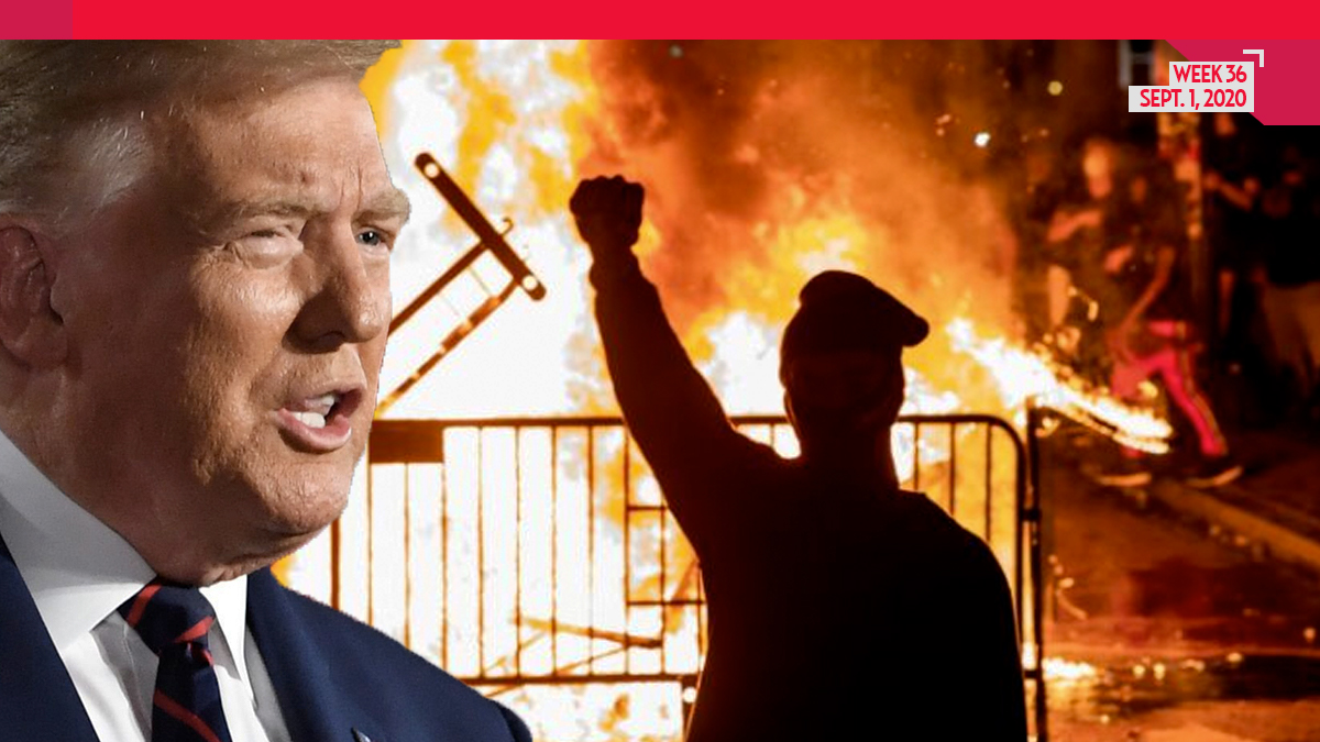 President Trump Says He Can Now Fix Portland Riot Situation in Just 15 MINUTES: 'We're Ready'