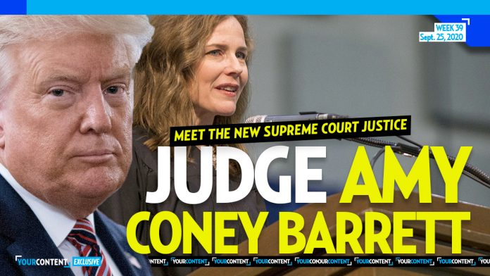 WE TOLD YOU FIRST! Trump to Nominate Judge Amy Coney Barrett to Fill Supreme Court Vacancy