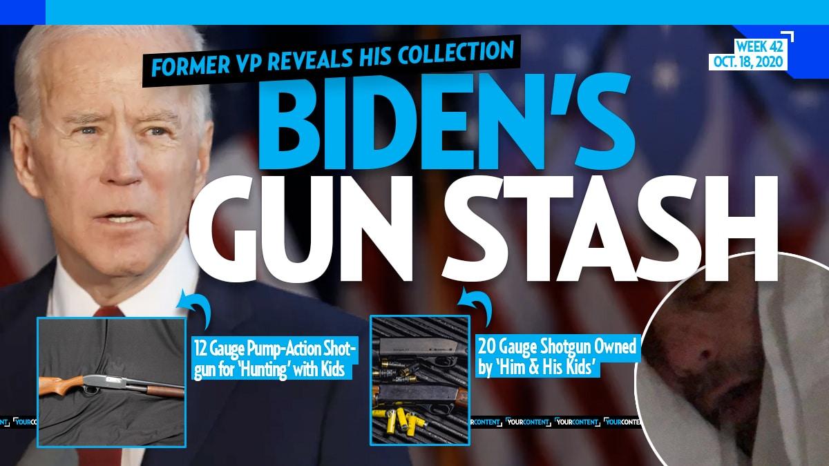 Biden Says His Drug Addict Son Has SHOT GUNS and SHOOSHES Female Staffer Like Farm Animal