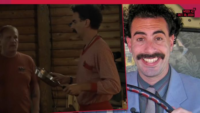 Borat Finds Voter Who Reveals 'The Democrat IS More Dangerous Than Coronavirus'