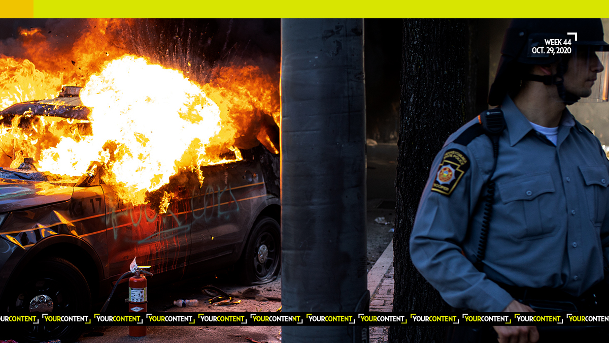 Feds Nab FOUR Rioters Responsible for BURNING Pa. State Trooper's Car, 2 from Out of State