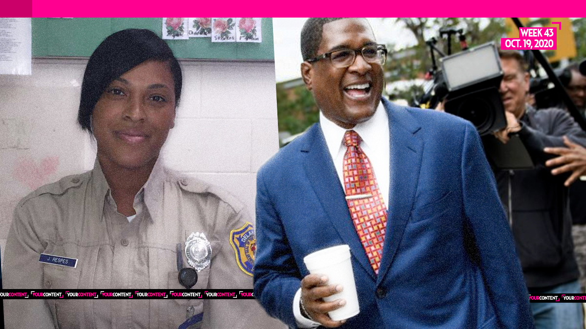 Former Prison Guard Cozies Up with Cosby PR Manager Andrew Wyatt