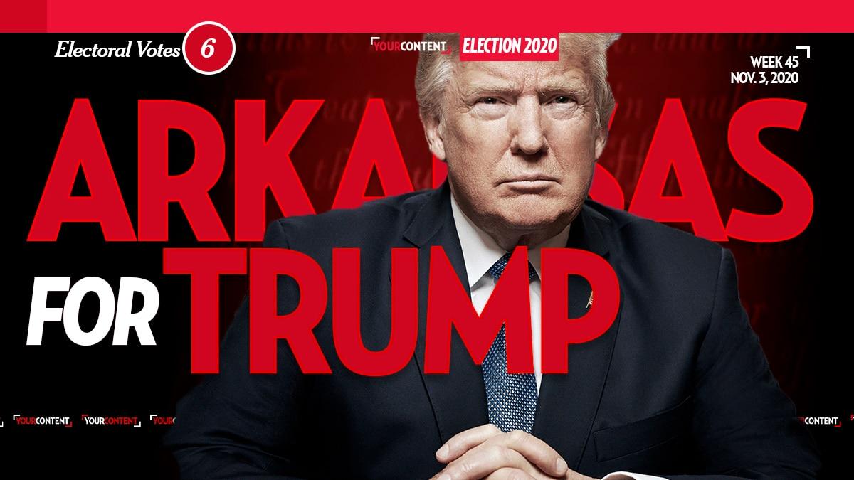 President Donald Trump Wins Arkansas