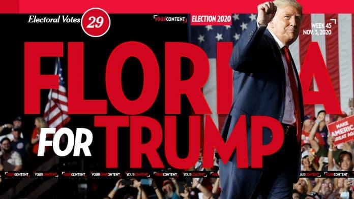 President Donald Trump Wins Florida