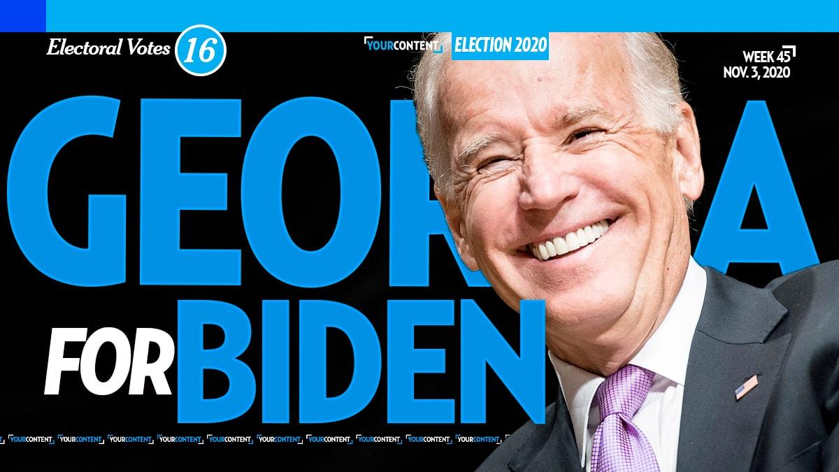 Joe Biden Wins Georgia