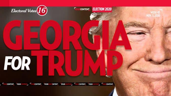President Donald Trump Wins Georgia