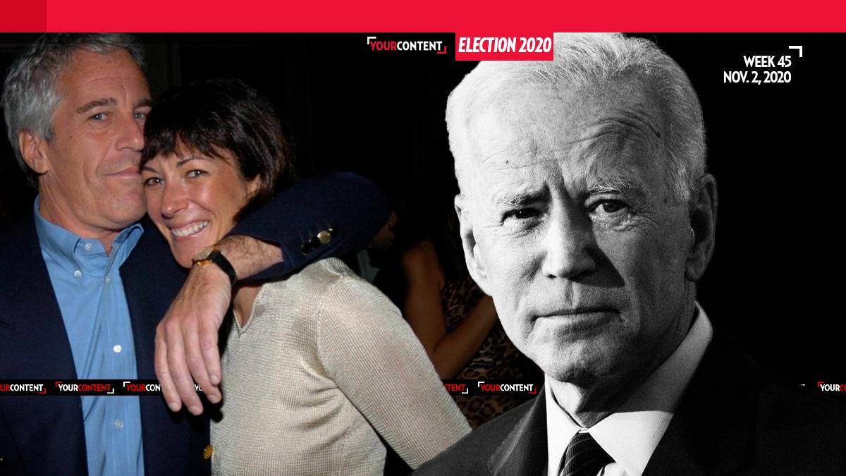 Ghislaine Maxwell, Epstein's Madam, Reportedly Endorses Joe Biden for President on Election Eve