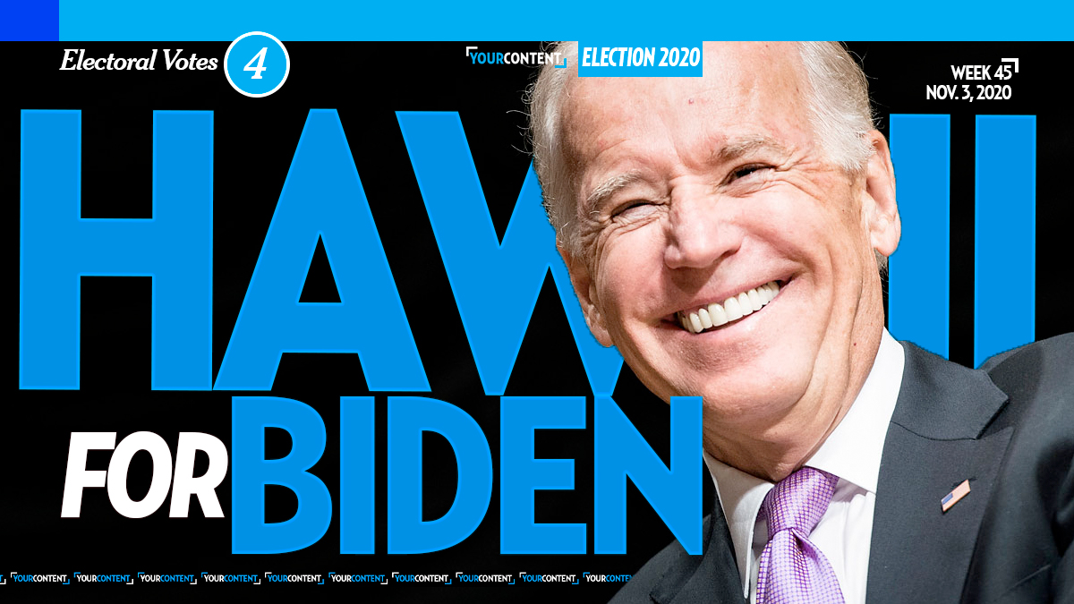Joe Biden Wins Hawaii