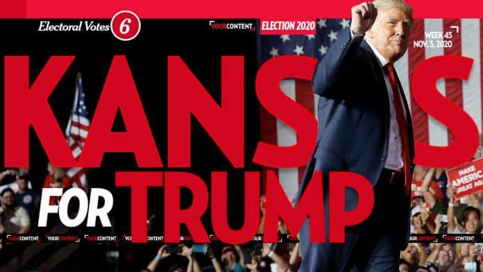President Donald Trump Wins Kansas