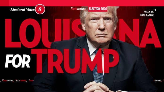 President Donald Trump Wins Louisiana